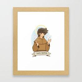 San Seiya Framed Art Print