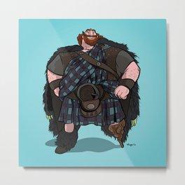Brave | King Fergus Metal Print
