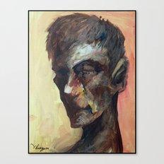 20minutes Portrait#3 Canvas Print