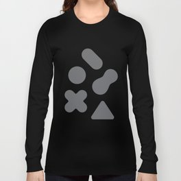Buttons Long Sleeve T-shirt