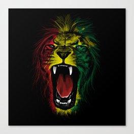 Rasta Roar Canvas Print