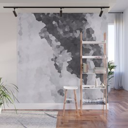 Mountains Black & white Wall Mural