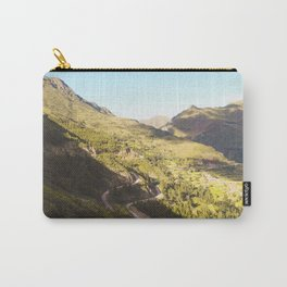Golden valley in the mountains Carry-All Pouch