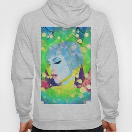 Digital Painting - Hayley Williams - Variation 2 Hoody