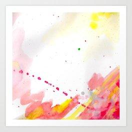 Courage (No Words) Art Print