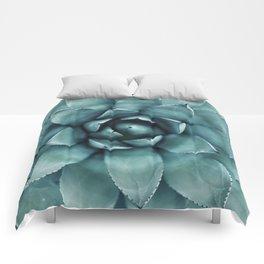Aloe Green Agave Comforters