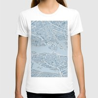stockholm T-shirts featuring Stockholm  by Anna Eggertz