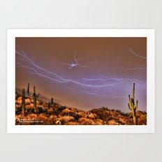 Monsoon Destiny Dream Art Print