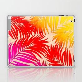 Palm Tree Fronds Multi Colour Vivid Hawaii Tropical Décor Laptop & iPad Skin