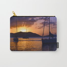 Sunset in the BVI Carry-All Pouch