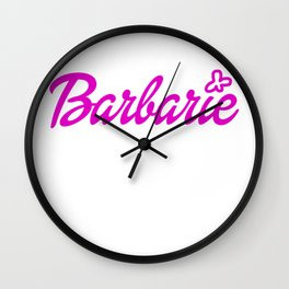 Barbarie Wall Clock