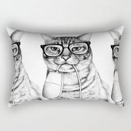 Mac Cat Rectangular Pillow