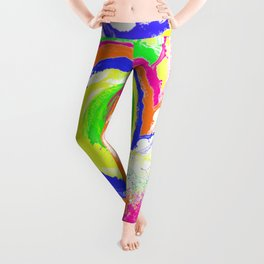 Whirlpool of Colour Leggings
