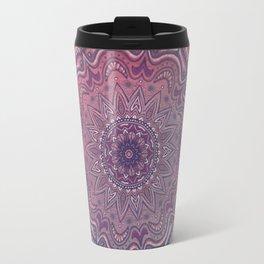 Pink and Blue Mandala Travel Mug