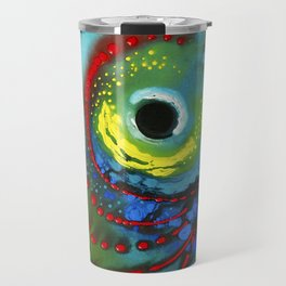 Tropical Fish - Colorful Beach Art By Sharon Cummings Travel Mug
