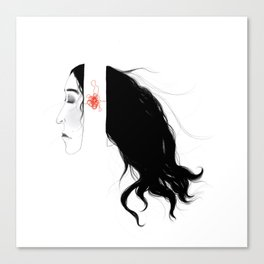 Splice Canvas Print