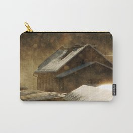 Snowstorm in the magic hour Carry-All Pouch