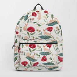 Ramona Poppy off-white Backpack