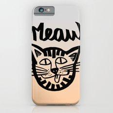 CAT MEAW FACE Slim Case iPhone 6s