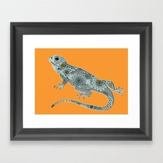 The Lizard Framed Art Print