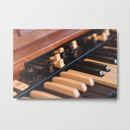 Hammond Closeup Metal Print