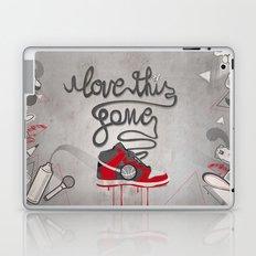 i love this game Laptop & iPad Skin
