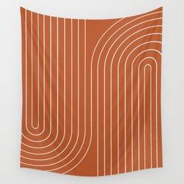 Minimal Line Curvature IX Wall Tapestry