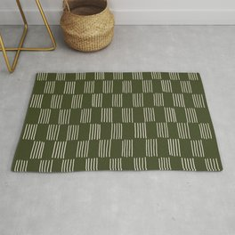 hatches – small doug fir Rug