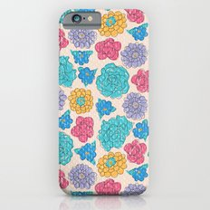 RocoFloral (peach) Slim Case iPhone 6s