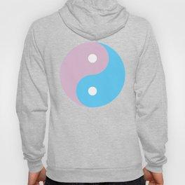 Transgender Yin Yang Symbol Hoody