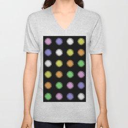 Rainbow Fuzz Unisex V-Neck