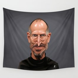 Celebrity Sunday ~ Steve Jobs Wall Tapestry