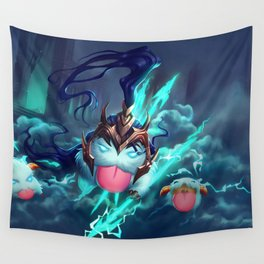 Kalista Poro League Of Legends Wall Tapestry