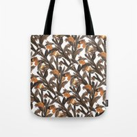 spice girls Tote Bags featuring Spice by Marlene Pixley