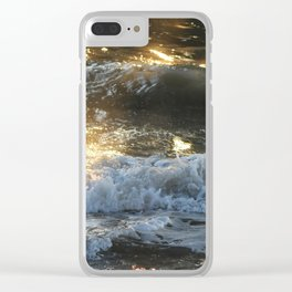 Dancing Sunlight under the Pier Clear iPhone Case