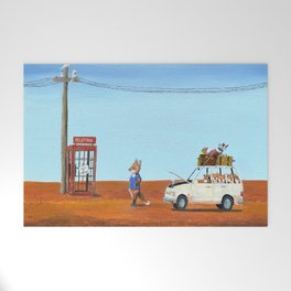 The Out of Service Phone Box Welcome Mat