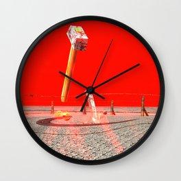 Squared: Statism Wall Clock