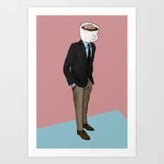 IT'S MORNING AND I THINK OF YOU Art Print