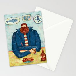 THE CAPTAIN'S BREAKFAST Stationery Cards
