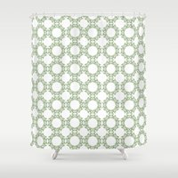 romantic Shower Curtains featuring Romantic by Yasmina Baggili