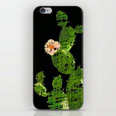 weird cactus black version iPhone Skin