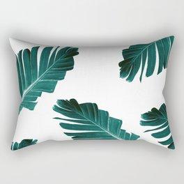 Tropical Banana Leaves Dream #4 #foliage #decor #art #society6 Rectangular Pillow