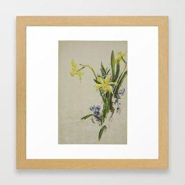 Jonquils by Charles DemuthJonquils by Charles Demuth Framed Art Print