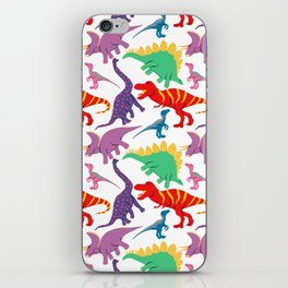 Dinosaur Domination - Light iPhone Skin