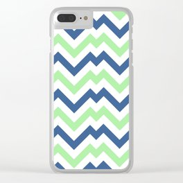 ZigZag Chevron Pattern Clear iPhone Case