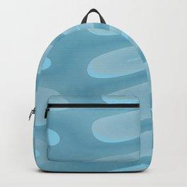 Aqua Jellies Abstract Backpack