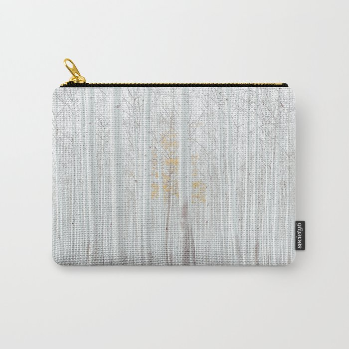 Pale Forest Carry-All Pouch