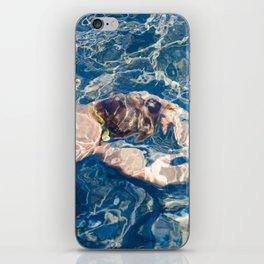 Underwater diffraction iPhone Skin