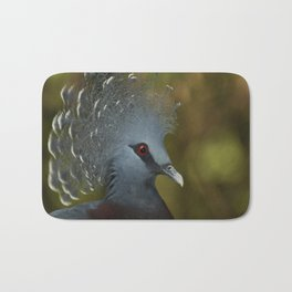 Victoria Crowned Pigeon Bath Mat