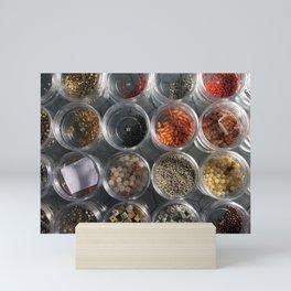 Beads Mini Art Print